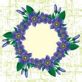 Blocco per grafici dei fiori immagine stock libera da diritti