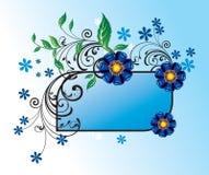 Blocco per grafici dei fiori fotografie stock libere da diritti