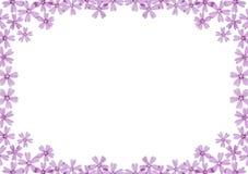 Blocco per grafici dei fiori Fotografie Stock