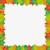 Blocco per grafici dei fogli di autunno Illustrazione di Stock