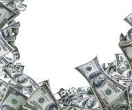 Blocco per grafici dei soldi Fotografia Stock