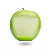Blocco per grafici del Apple per il rilievo di nota Immagine Stock