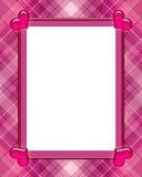 Blocco per grafici del biglietto di S. Valentino Fotografia Stock Libera da Diritti