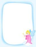 Blocco per grafici del bordo di angelo royalty illustrazione gratis