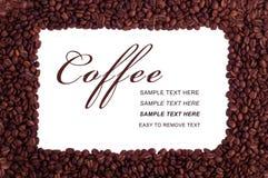 Blocco per grafici del caffè Fotografia Stock