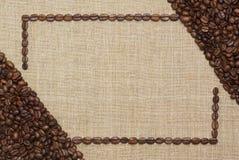 Blocco per grafici del caffè di arte Immagini Stock