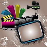 Blocco per grafici del cinematografo Fotografia Stock