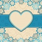 Blocco per grafici del cuore. Fotografia Stock