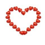 Blocco per grafici del cuore Fotografie Stock Libere da Diritti