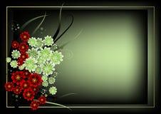 Blocco per grafici del fiore Immagini Stock Libere da Diritti