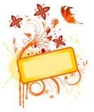 Blocco per grafici del fiore Immagine Stock Libera da Diritti
