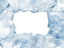Blocco per grafici del ghiaccio Fotografia Stock