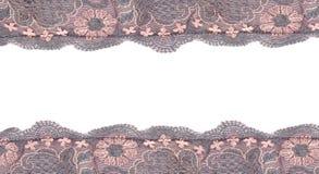 Blocco per grafici del merletto isolato su bianco Immagine Stock Libera da Diritti