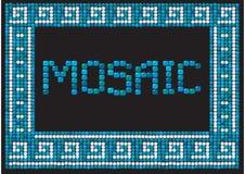 Blocco per grafici del mosaico (paesaggio) Immagini Stock Libere da Diritti