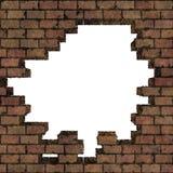 Blocco per grafici del muro di mattoni immagine stock