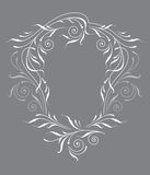 Blocco per grafici del ornamental dell'annata Fotografie Stock Libere da Diritti
