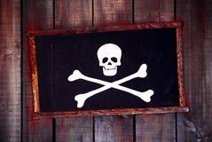 Blocco per grafici del pirata Fotografia Stock Libera da Diritti