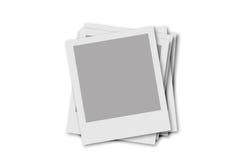 Blocco per grafici del Polaroid Fotografia Stock Libera da Diritti