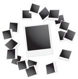 Blocco per grafici del Polaroid Immagine Stock Libera da Diritti