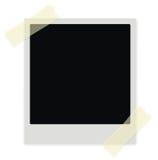 Blocco per grafici del Polaroid Immagini Stock