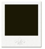 Blocco per grafici del Polaroid illustrazione di stock
