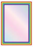 Blocco per grafici del Rainbow Fotografia Stock