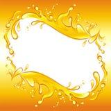 Blocco per grafici del succo di arancia. Immagine Stock