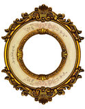 Blocco per grafici del vecchio oro Fotografia Stock Libera da Diritti