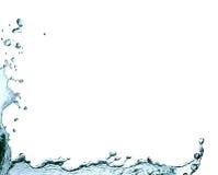 Blocco per grafici dell'acqua Fotografia Stock