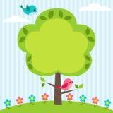 Blocco per grafici dell'albero Immagini Stock