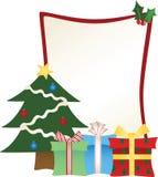 Blocco per grafici dell'albero di Natale più vasto Royalty Illustrazione gratis