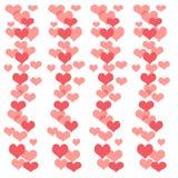 Blocco per grafici dell'album del biglietto di S. Valentino royalty illustrazione gratis