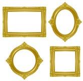 Blocco per grafici dell'oro Immagini Stock Libere da Diritti