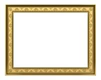 Blocco per grafici dell'oro - rappresentazione 3d Fotografie Stock