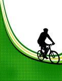Blocco per grafici della bicicletta illustrazione di stock