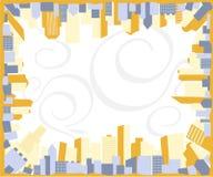 Blocco per grafici della città Illustrazione di Stock