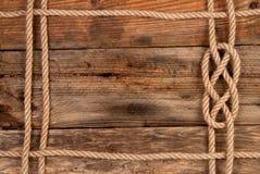 Blocco per grafici della corda Fotografia Stock