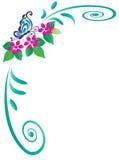 Blocco per grafici della farfalla Fotografie Stock Libere da Diritti