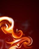 Blocco per grafici della fiamma Fotografia Stock Libera da Diritti
