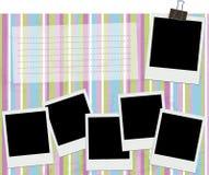 Blocco per grafici della foto illustrazione di stock