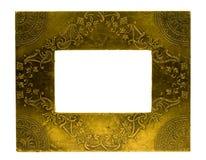 Blocco per grafici della foto del metallo Fotografia Stock