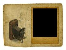 Blocco per grafici della foto dell'annata Fotografia Stock