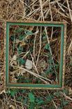 Blocco per grafici della foto dell'annata all'aperto fotografie stock libere da diritti