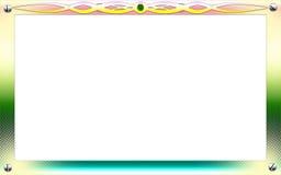 Blocco per grafici della foto dell'annata con i reticoli di classe illustrazione di stock