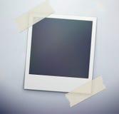 Blocco per grafici della foto della polaroid Immagini Stock Libere da Diritti