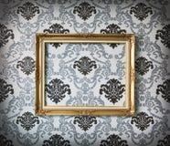 Blocco per grafici della foto di Golder Immagine Stock
