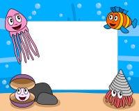 Blocco per grafici della foto di vita di mare [4] Immagine Stock Libera da Diritti