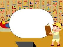 Blocco per grafici della foto - Egitto royalty illustrazione gratis