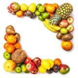 Blocco per grafici della frutta Immagini Stock Libere da Diritti
