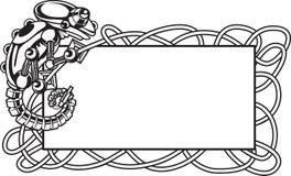 Blocco per grafici della lucertola del Chameleon illustrazione di stock